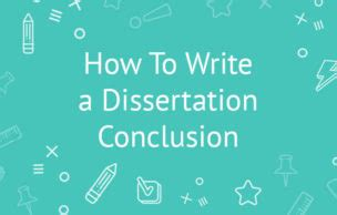 How to write a conclusion for PhD thesis